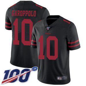 Mens 49ers Jimmy Garoppolo 100th Season Jerseys